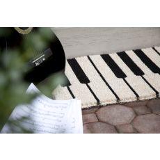 Piano Handwoven Coconut Fiber Doormat