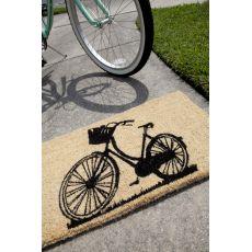 Bike Handwoven Coconut Fiber Doormat