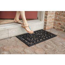 Fleur Di Lys Recycled Rubber Doormat