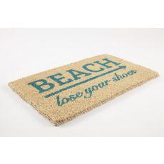 Lose Your Shoes Handwoven Coconut Fiber Doormat