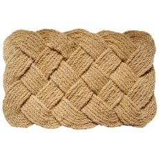 Knot-ical 24×36 Handwoven Coconut Fiber Long Doormat