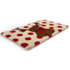 Rudolph Handwoven Coconut Fiber Doormat