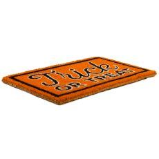 Trick or Treat Hand Woven Coir Doormat