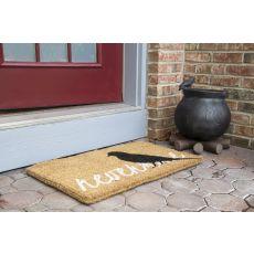 Raven Hand Woven Coir Doormat