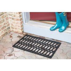 Trellis Recycled Rubber Doormat