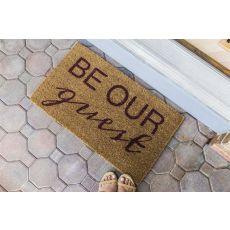 Be Our Guest Handwoven Coconut Fiber Doormat