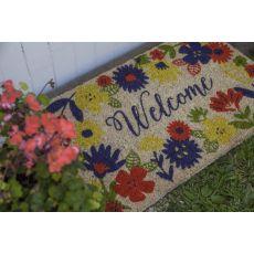 Solstice Handwoven Coconut Fiber Doormat