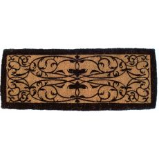 Iron Grate Rectangle 18X47 Extra - Thick Hand Woven Coir Doormat