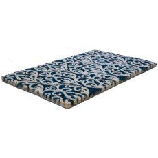 Bristol Scroll Handwoven Coconut Fiber Doormat