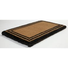 The One With The Border Extra - Thick Hand Woven Coir Doormat
