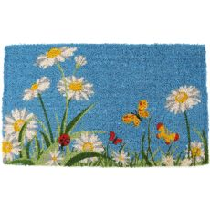 One Summer Day Hand Woven Coir Doormat
