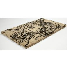 Ink Bouquet Hand Woven Coir Doormat