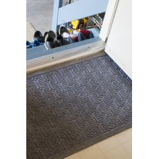 "Geometric Pattern Weather Beater Polypropylene Mat 22"" X 35"""