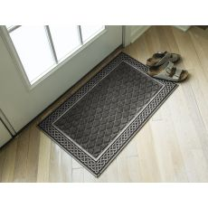 "Silver And Gray Weather Beater Polypropylene Mat 18"" X 30"""