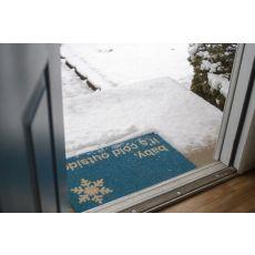 Baby It'S Cold Non Slip Coir Doormat