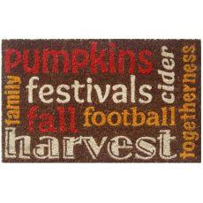 Autumn Spirit Non Slip Coir Doormat