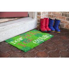 Dear Santa Non Slip Coir Doormat
