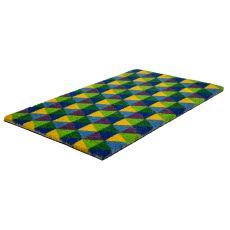 Triangles Non Slip Coir Doormat