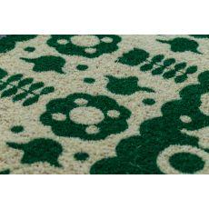 Folk Flowers Non Slip Coir Doormat