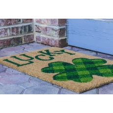 Lucky Non Slip Coir Doormat