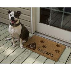 It Happens Non Slip Coir Doormat