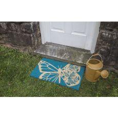 Butterfly Non Slip Coir Doormat