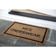Nice Underwear Non Slip Coir Doormat