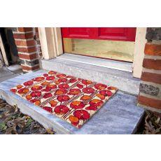 Poppies Non Slip Coir Doormat