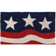 Stars And Stripes Non Slip Coir Doormat