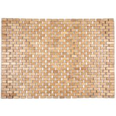 Roosevelt Exotic Wood Mat -Brown 18X30