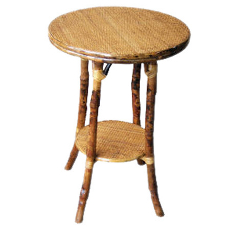 Coastal Rattan Round Table