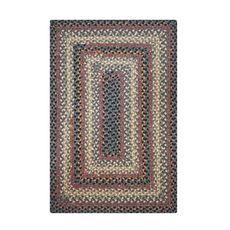 """Homespice Decor 20"""" x 30"""" Rect. Enigma Cotton Braided Rug"""