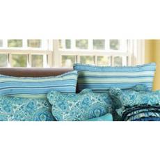 Oceana Stripped Euro Sham Pillow Case