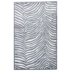 Animal Pattern Rayon Chenille Fables Area Rug