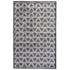 Geometric Pattern Rayon Chenille Fables Area Rug