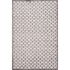 Tribal Pattern Rayon And Chenille Fables Area Rug