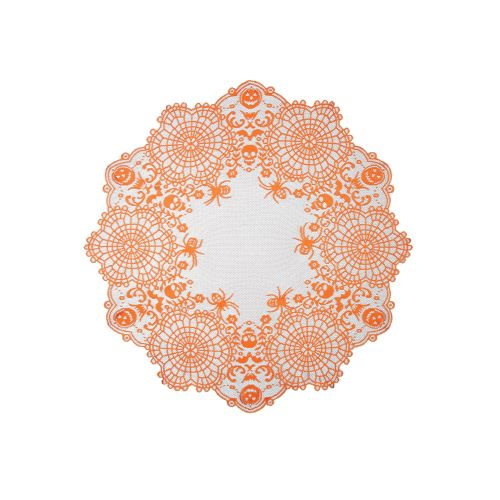 """Frightful 36"""" Round Table Topper"""
