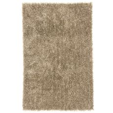 Solids & Heathers Pattern Polyester Flux Area Rug