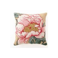Floral Panel Iv Hook Pillow