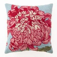 Floral Panel I Hook Pillow