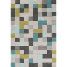 Tribal Pattern Polyester Fusion Area Rug