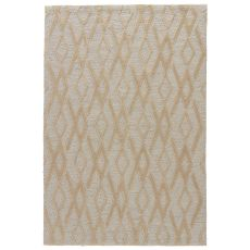 Contemporary Geometric Pattern Gray/Neutral Polyester Area Rug ( 7.6X9.6)