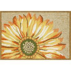 Sunflower Yellow Indoor/Outdoor Rug