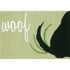 """Liora Manne Frontporch Woof Indoor/Outdoor Rug - Green, 24"""" By 36"""""""
