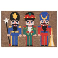 "Liora Manne Frontporch Nutcracker Indoor/Outdoor Rug - Multi, 24"" By 36"""