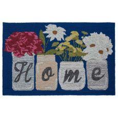 """Liora Manne Frontporch Home Indoor/Outdoor Rug Blue 30""""X48"""""""