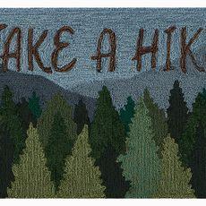 "Liora Manne Frontporch Take A Hike Indoor/Outdoor Rug Forest 24""x36"""