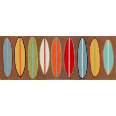 "Surfboards Indoor/Outdoor Rug 24""X60"""