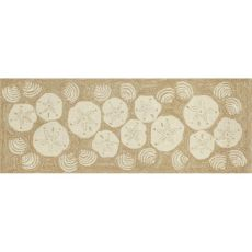 Shell Toss Indoor/Outdoor Rug- Neutral