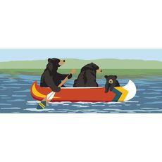 "Liora Manne Frontporch Are We Bear Yet? Indoor/Outdoor Rug Lake 24""x60"""